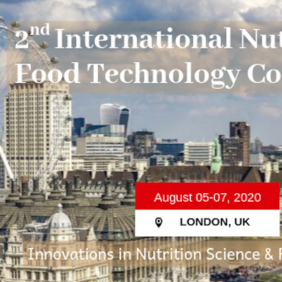 2nd International Nutrition and Food Technology Conference