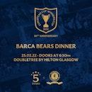 50th Anniversary Barca Bears Dinner