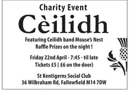Charity Ceilidh