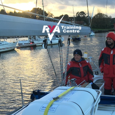 RYA Competent Crew  Practical Monday 3rd August 2020