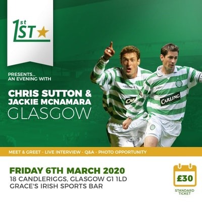 An Evening with Chris Sutton and Jackie McNamara