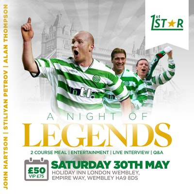 An Evening with John Hartson,  Stan Petrov and Alan Thompson