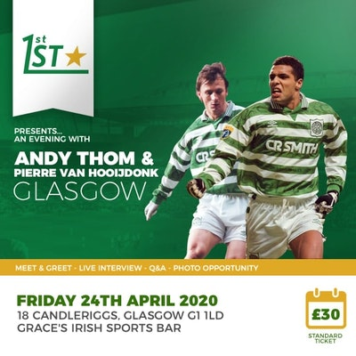 An Evening with Pierre Van Hooijdonk and Andy Thom