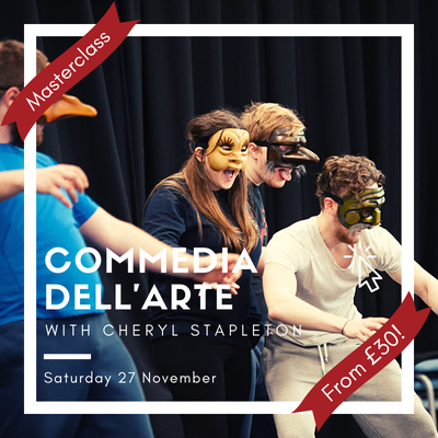 An Introduction to Commedia dell'Arte with Cheryl Stapleton