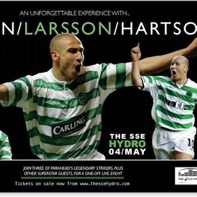 An Unforgettable Experience with Larsson, Hartson and Sutton.