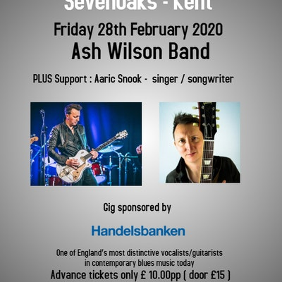 Ash Wilson Band : Nominee Best Blues Guitarist 2019