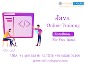 Attend for free demo on Advanced Java online training by experts
