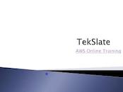 AWS training online at Tekslate