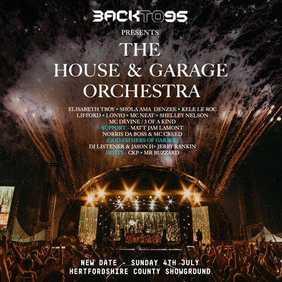 Back to 95 present The House & Garage Orchestra