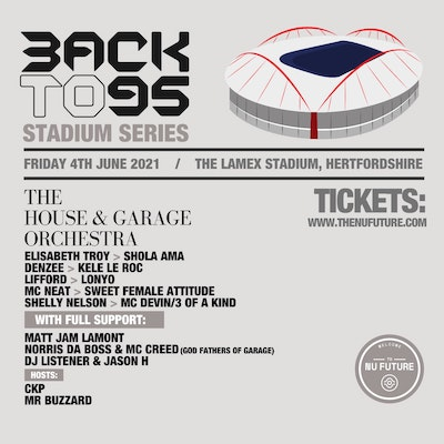Back to 95 presents the House & Garage Orchestra