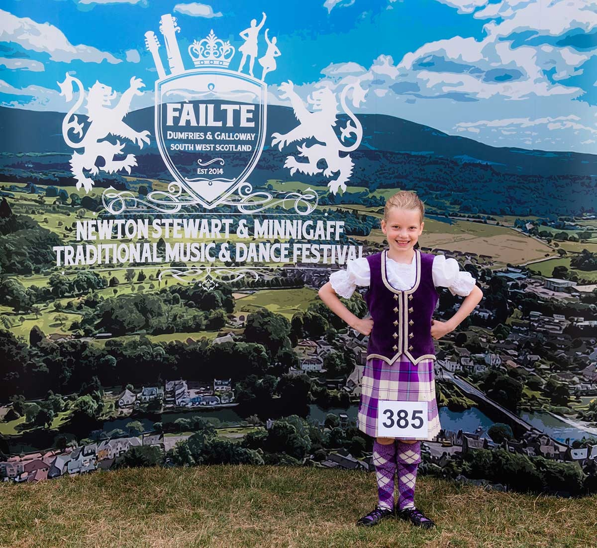 Beginners - Scottish Highland Dancing Competition Registration