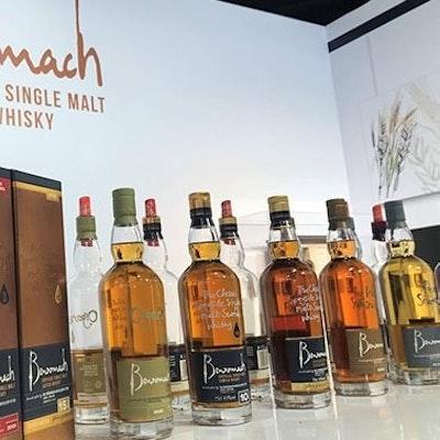 Benromach whisky tasting