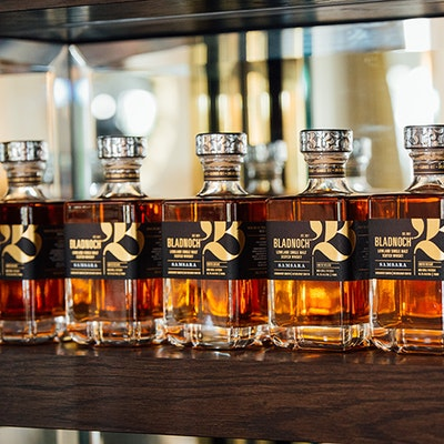 Bladnoch whisky tasting