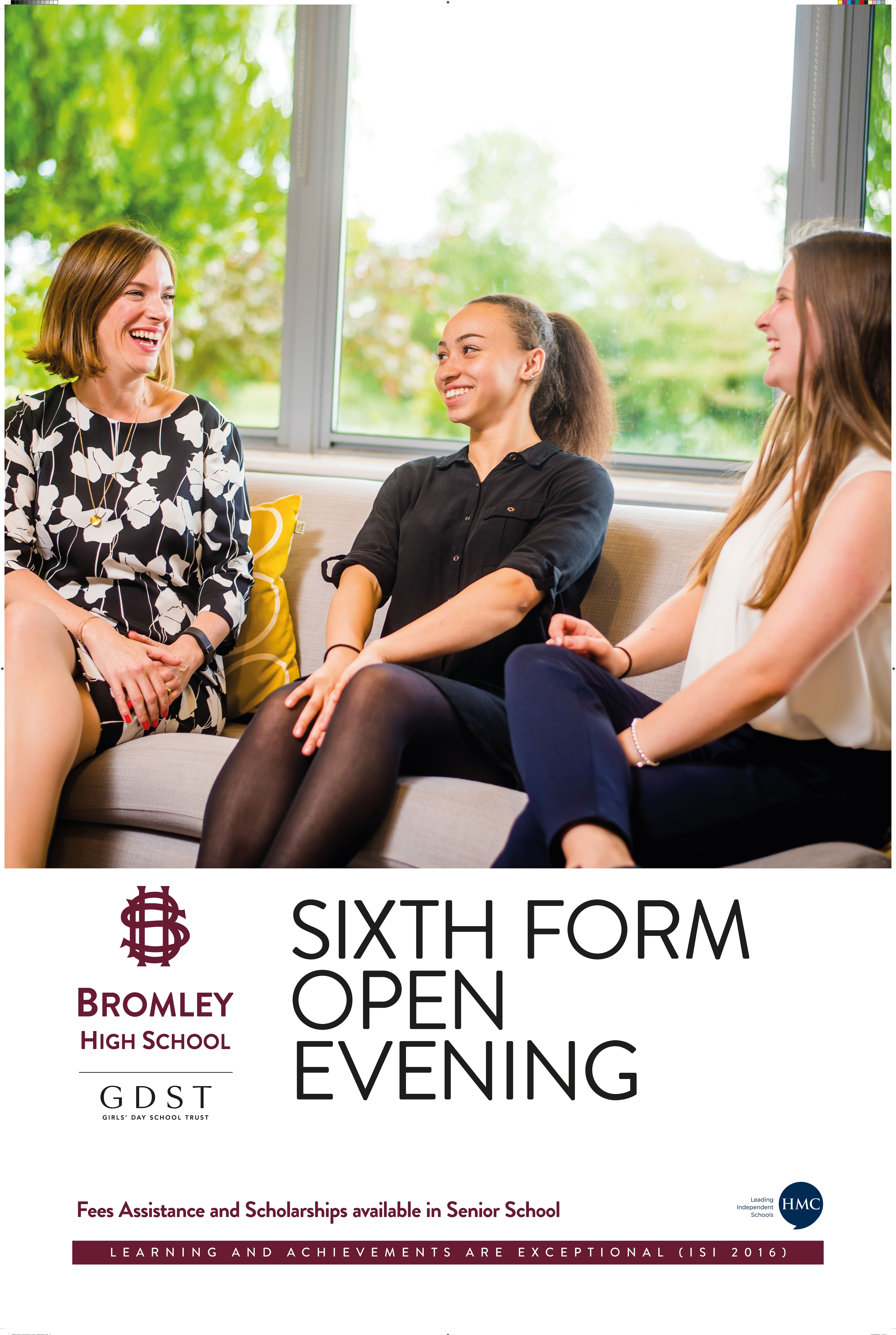 Bromley High School Sixth Form Open Evening