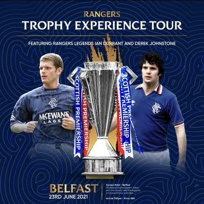 Champions Trophy Tour Dinner with Ian Durrant and Derek Johnstone