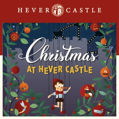 Christmas at Hever Castle - The Adventures of Pinocchio - Castle