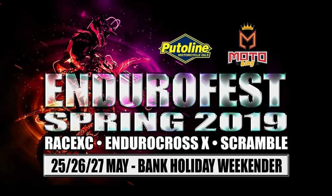 Endurofest Track day 26th May 11.30am-4pm