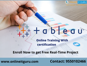 Get free demo on Tableau Online Training by Experts