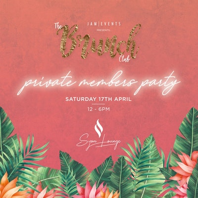Jam Events Presents The Brunch Club