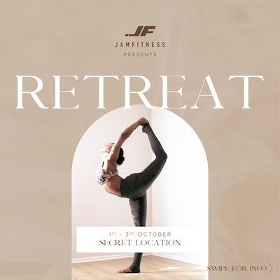 JAM | FITNESS presents.. RETREAT