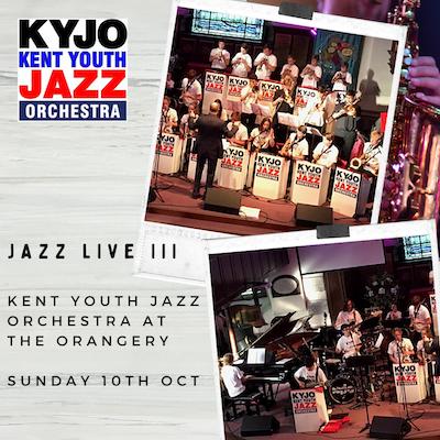 Kent Youth Jazz Orchestra (KYJO) at the Orangery