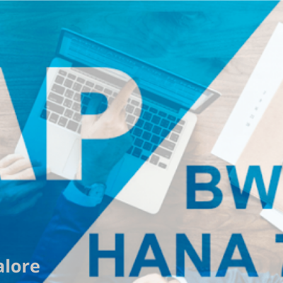 Learn SAP BW On HANA Course Online