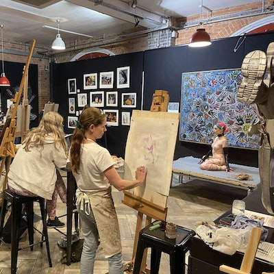 Life Drawing at Old Fire Station