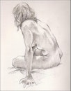 Life drawing - untutored model-led session week 3