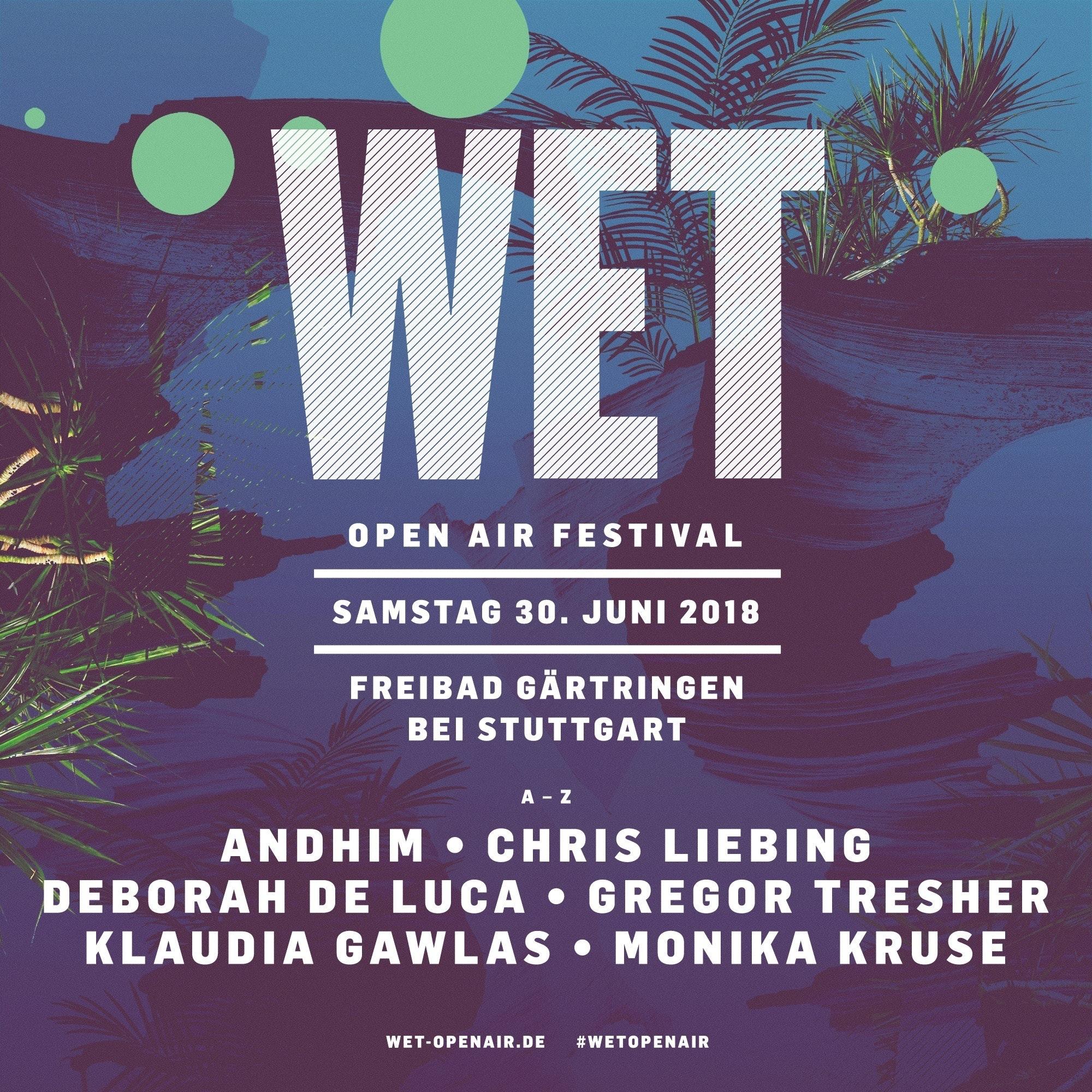 WET Open-Air Festival 2018