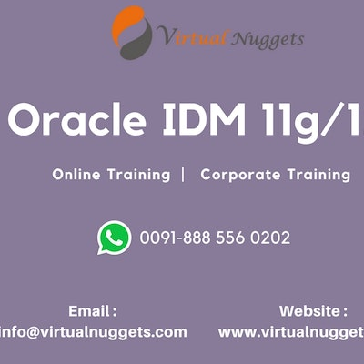 Oracle Identity Manager | IDM Online Training