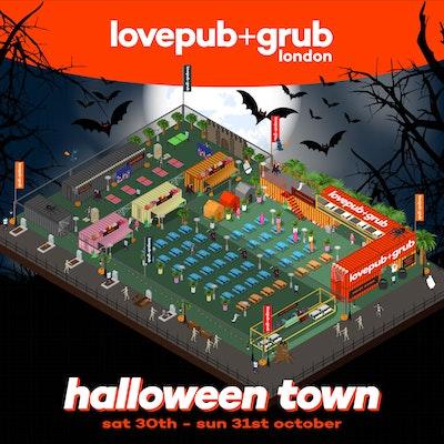 Love Pub + Grub Halloween - Sun 31st October 2021
