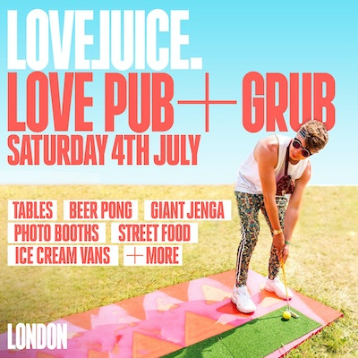 LOVEJUICE LOVE PUB + GRUB LAUNCH