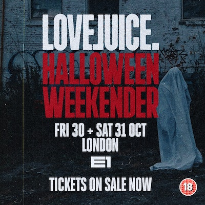 LOVEJUICE HALLOWEEN FRIDAY