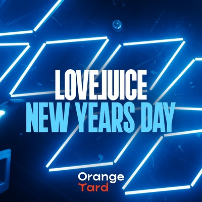 LOVEJUICE - EXCLUSIVE NEW YEARS DAY AT ORANGE YARD SOHO - 2.30PM - 9.30PM
