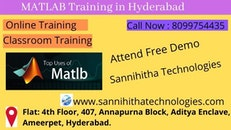 MATLAB Training in Hyderabad Ameerpet | MATLAB online Training in Hyderabad