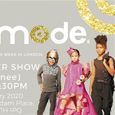 Mini Mode Global Kids Fashion Week SS20   Consumer Show (Matinee Show)