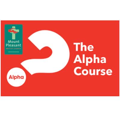 Mount Pleasant Baptist Church Alpha Course