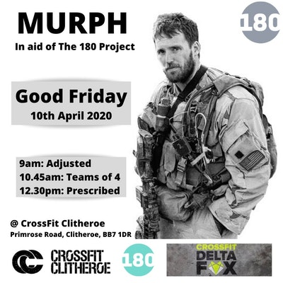 MURPH in aid of The 180 Project