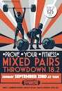 CrossFit MaxOn MIXED PAIRS THROWDOWN 18.2