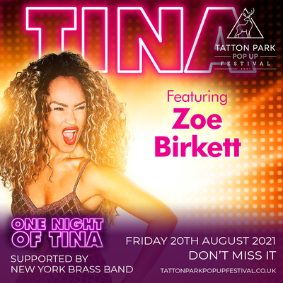 One Night Of Tina supported by New York Brass Band