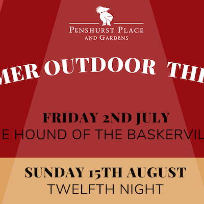 Outdoor Theatre at Penshurst Place and Gardens