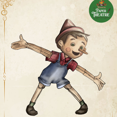 Pinocchio by The Magical Paper Theatre