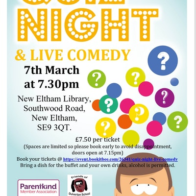 Quiz Night & Live Comedy!!