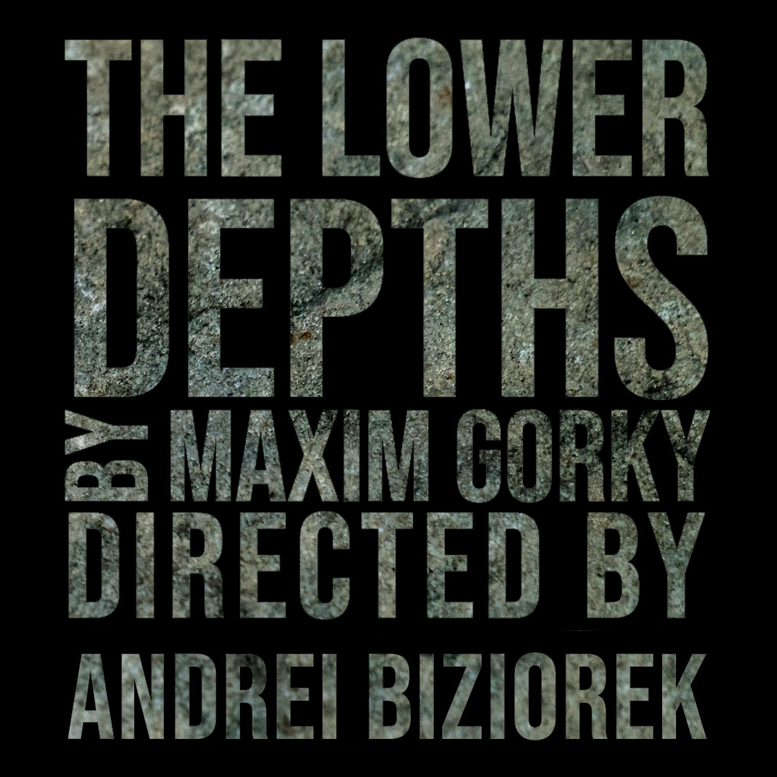 The Lower Depths 9th May 14:30 | Redemption Season