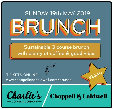 Sustainable Brunch at  Charlie's with Chappell & Caldwell
